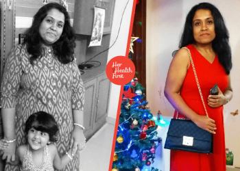 Shalini Pillai embraced yoga to lose weight and succeeded